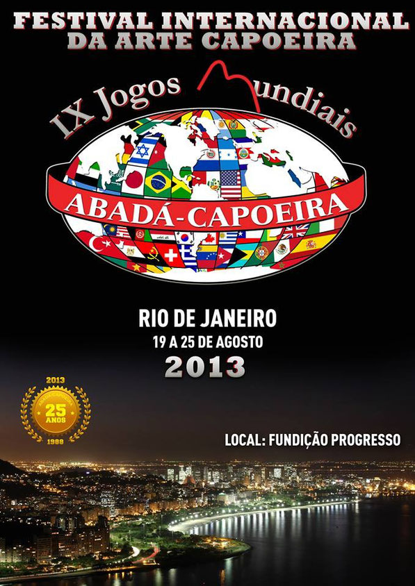 MAIOR FESTIVAL DE CAPOEIRA DE TODOS OS TEMPOS!!MAIS DE 50 PAISES ENVOLVIDOS!!