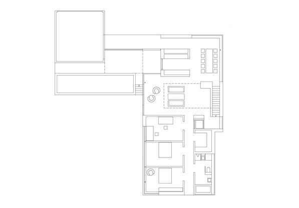 Neubau EFH Hööracker, Hallau I Grundriss