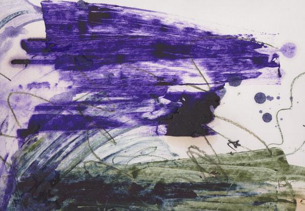 Herbst / Akryl 1998, F. Sacco