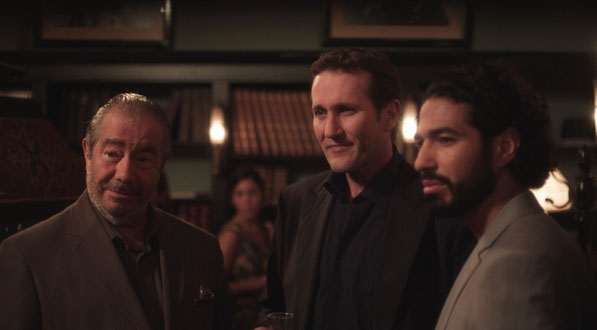 Jean Marie Lamour, Gerard Dessalles, Helmi Dridi in SUIVEZ LA FLECHE - FOLLOW THE ARROW written directed and produced by Marc SAEZ