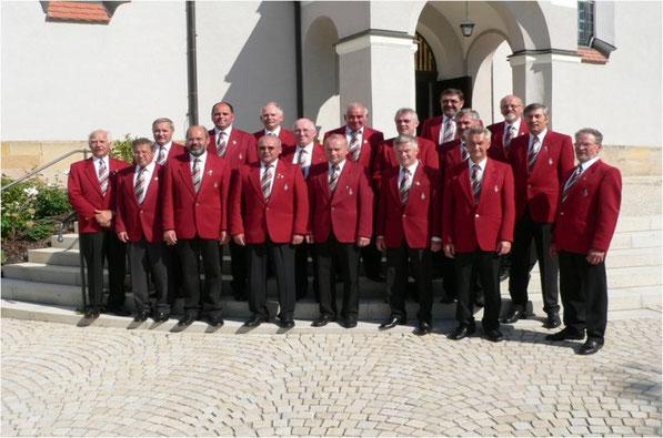Gruppenbild Männerchor Ursulapoppenricht