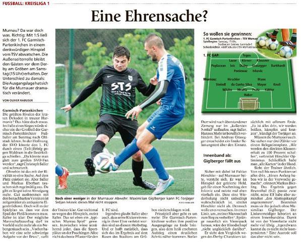Ga-Pa Tagblatt vom 20.05.2017