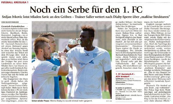 Ga-Pa Tagblatt vom 25.03.2017