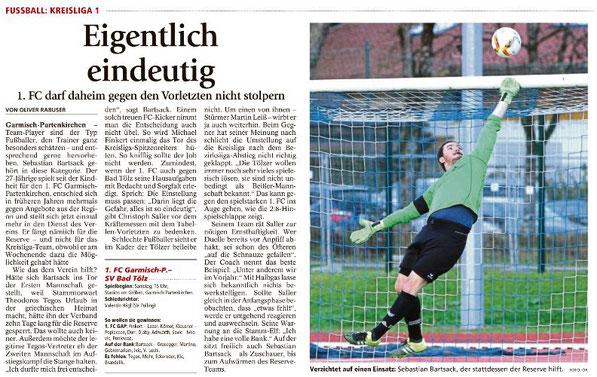 Ga-Pa Tagblatt vom 22.04.2017