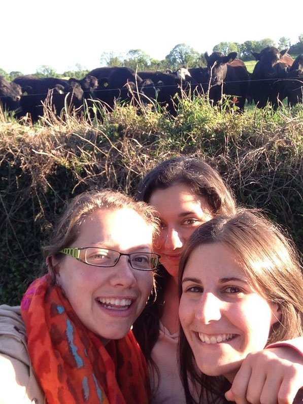 Selfie with the cows :)