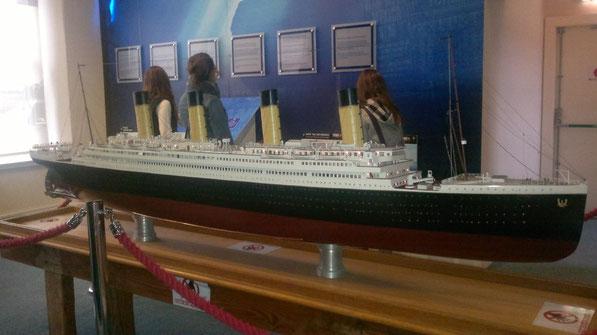 Modell der Titanic