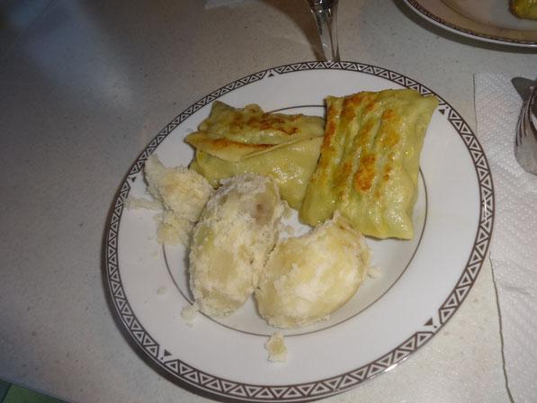 Tadaaaa (ja die Kartoffeln sehen etwas komisch aus aber geschmeckt haben sie :P)