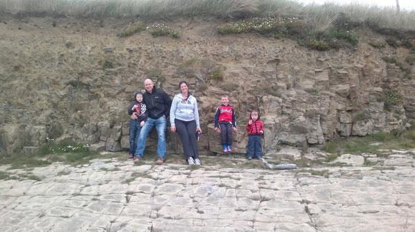 Meine Familie auf Zeit (James, Brendan, Kathleen, Daniel und Tadgh)