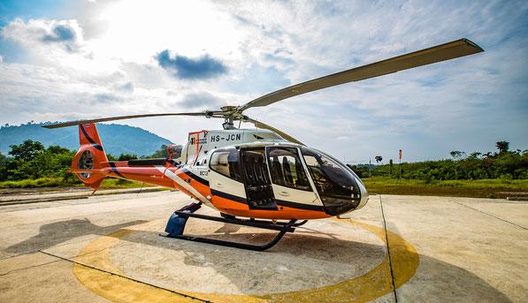 Аренда и трансфер на Вертолете в Крыму