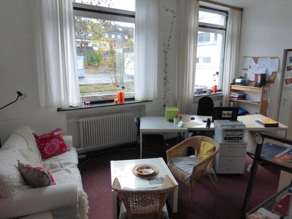 wichtige Anlaufstelle für SchülerInnen, LehrerInnen und Eltern - Das Büro der Schulsozialarbeit