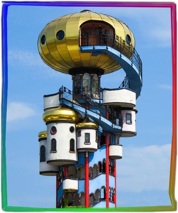 Hundertwasser Kuchlbauer-Turm in Abensberg