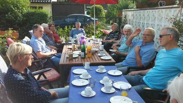 Imkerschnack  bei Swen und Melanie , 03. September 2016