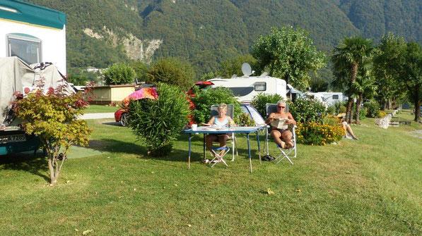 am Camping Paradiso