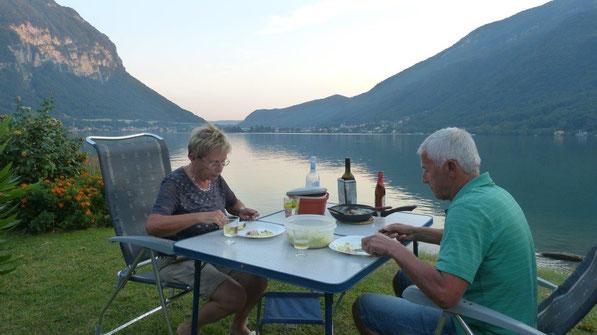 Abendstimmung am Luganer See