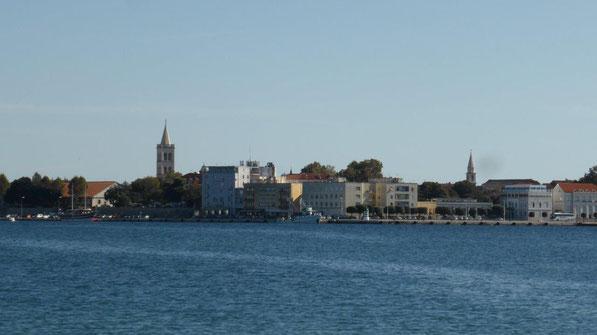 Blick auf Zadar