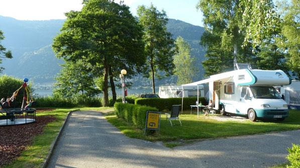 am Camping Berghof am Ossiacher See