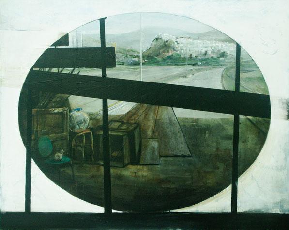 Gato y bola de cristal. Fernando Wilson