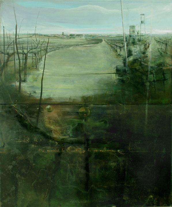 """Premio de Pintura y Escultura Ciudad de Melilla. """"De necesidad la oscuridad y la luz extrema. Fernando Wilson."""
