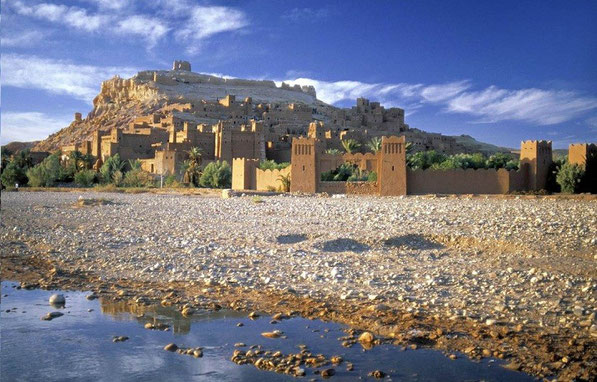 Ouarzazate Maroc, ait ben haddou, ksar, kasbah, atlas, desert