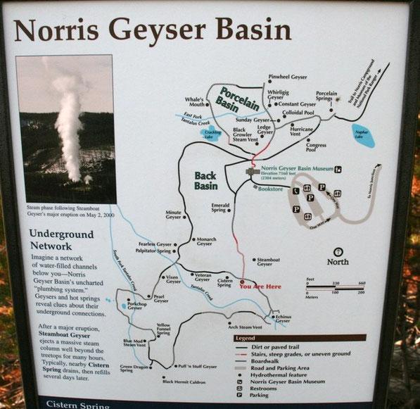 Yellowstone NP, Norris Geyser Basin