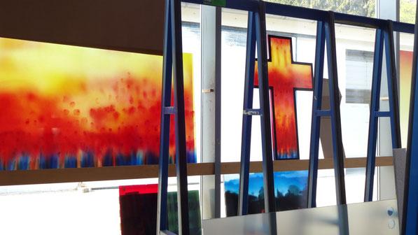 Sylvie Lander-peinture-vitraux-couleurs