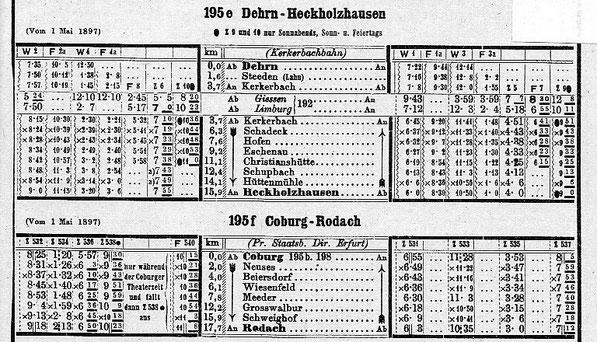 Kursbuch 1897