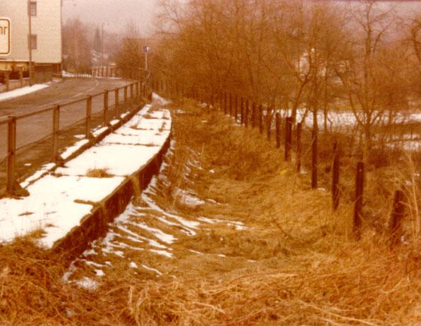 Die selbe Stelle ca. 1982 __________________Foto: K. Deutschland