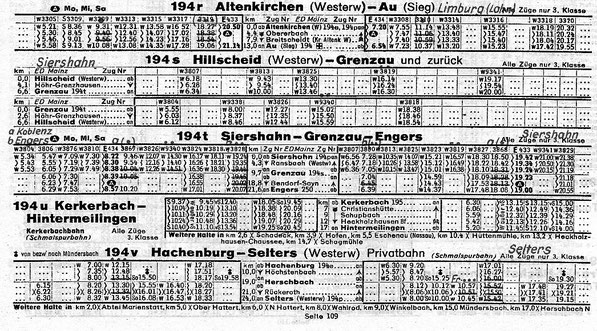 Kursbuch 1948