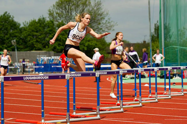 Eilidh Child on her way to victory at Loughborough in 2013 (photo by Bobby Gavin)