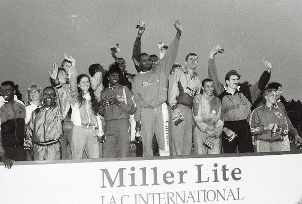 International stars at the Miller Lite Games