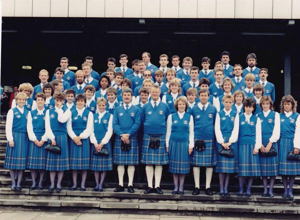 The Scotland Commonwealth Games team of 1986