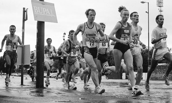 Liz McColgan at the BUPA Great Caledonian Run 1995