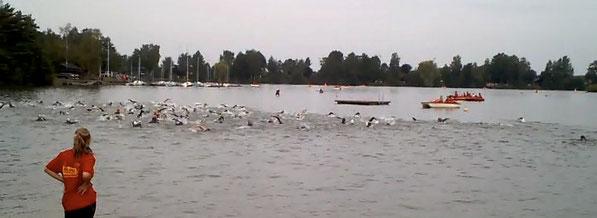Der Teich brodelt.....