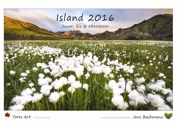 Island, Kalender, 2016, B3, A3, Iceland, Hochland, Trekking, Wandern