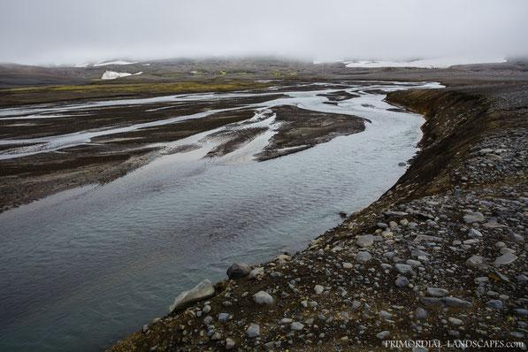 Rauðá, on the way into the Vonarskarð