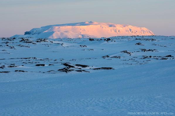 Winter, Bláfjall, Blafjall, Myvatn, Mývatn, Mývatnsöræfi, Útbruni, Ice, Snow, Sunset, Cold, Ódáðahraun, Odadahraun, Lava, Iceland, Island