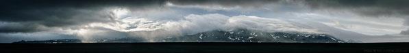 Askja, Iceland, Dyngjusandur, Holuhraun, Panorama, Primordial Landscapes, Dramatic, Dyngjufjöll, F910, Storm