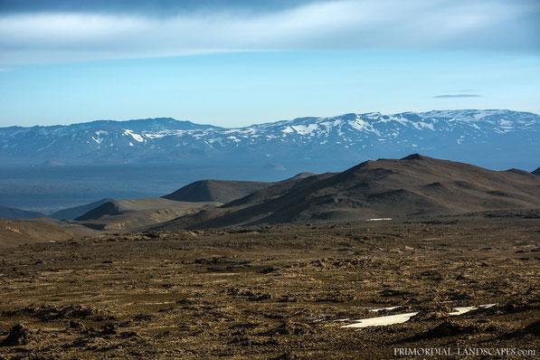 Hvammfjöll, Hvammsfjöll, Ódáðahraun, Odadahraun, Lava, Iceland, Island, Askja, Dyngjufjöll, Þorvaldstindur, Ùtbruni