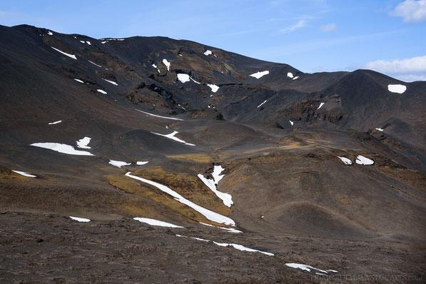 Gjáfjöll, Gjá, Fissure, Mývatnsöræfi, Ódáðahraun, Hafragjá