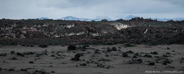 Holuhraun, Nornahraun, Dyngjusandur, Steam, Lava, Bárðarbunga