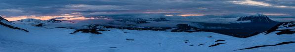 Ódáðahraun, Odadahraun, Panorama, Dyngjufjöll, Askja, Night, Herðbreið, Herdubreid, Fog, Kollur, Dreki, Kollóttadyngja, Eggert, Midsummer