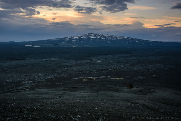 Trölladyngja, Bárðarbunga, shield, volcano, Schildvulkan, Kistufell, F910, emergency shelter