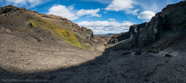 Dyngjufjöll, Askja, Dreki, Holuhraun, Upptyppingar, Canyon, Nautagil