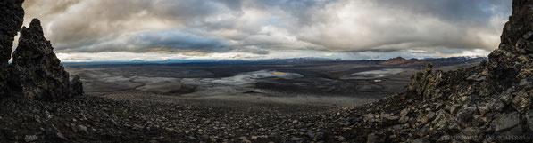 Tvíburatindur, Útbruni, Askja, Panorama, Sellandafjall, Bláfjall, Hvammfjöll, Kollóttadyngja, Bræðrafell, Herðubreið, Dyngjufjöll (Einstæðingur)