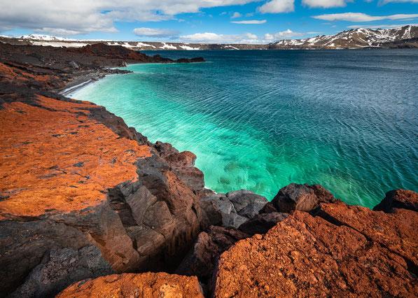 Askja, Myvetningahraun, Öskjuvatn, Þorvaldstindur, Askur