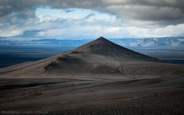 Tvíburatindur, Tviburatindur, Lokatindur, Útbruni, Dyngjufjöll, Askja, Ódáðahraun, Island