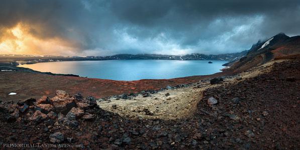 Caldera, Goðahraun, Dyngjufjöll, Trekking, Öskjuvegur, Öskjuvatn