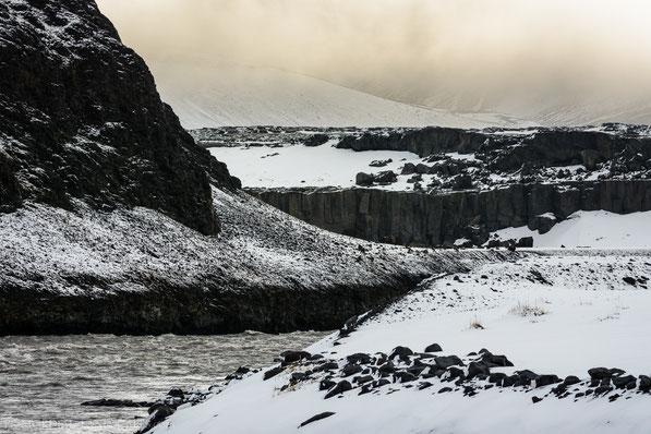 Jökulsá á Fjöllum, Jökulsa a Fjöllum, Glacier, Debris, Ódáðahraun