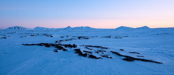 Hvammfjöll, Winter, Hvammsfjöll, Ódáðahraun, Odadahraun, Lava, Iceland, Island