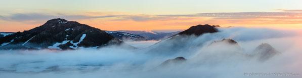 Ódáðahraun, Mývatnsöræfi, Ketildyngja, Krafla, Myvatn, Sunrise, Ketill, Trekking, Primordial